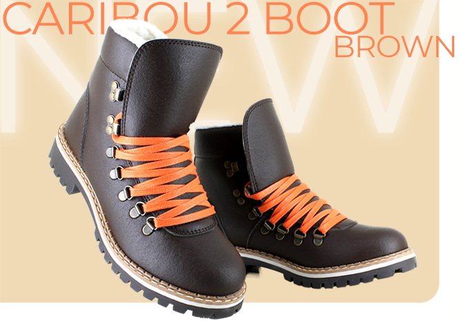 Caribou Boot Brown