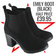Emily Boot Black