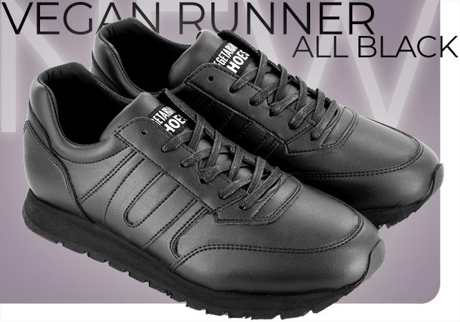 Vegan Runner Black