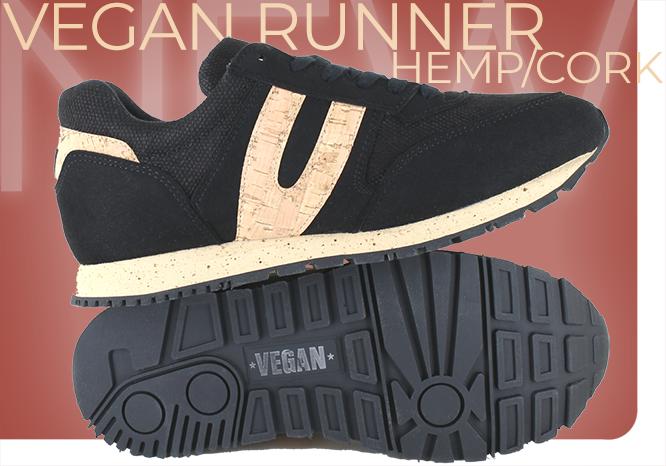 Vegan Runner Cork Shoe