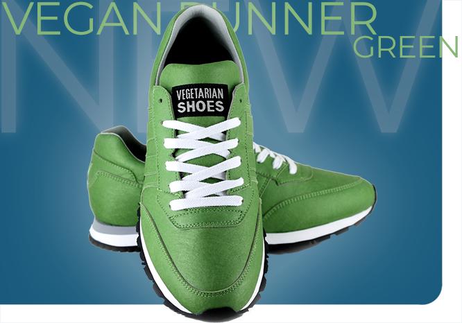 Vegan Runner Green
