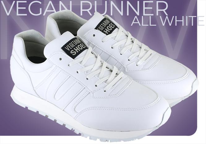 Vegan Runner White