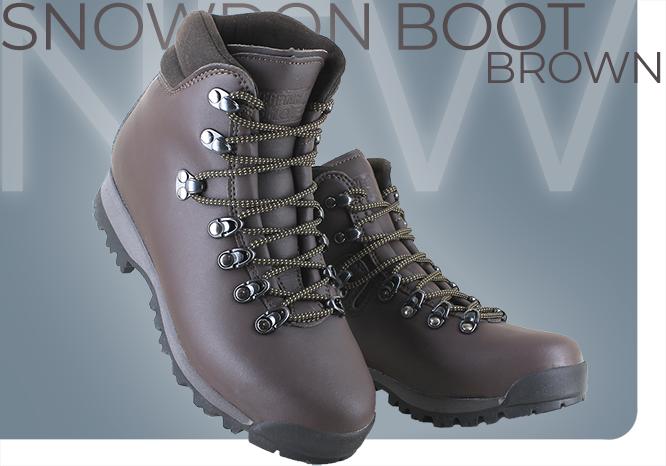 Snowdon Boot Brown