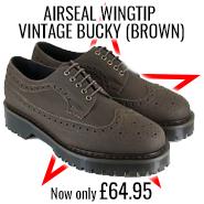 Wingtip Bucky Brown